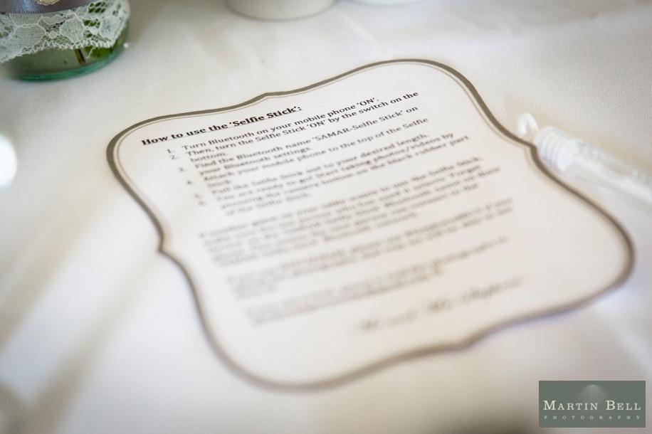 Northcote House wedding breakfast ideas