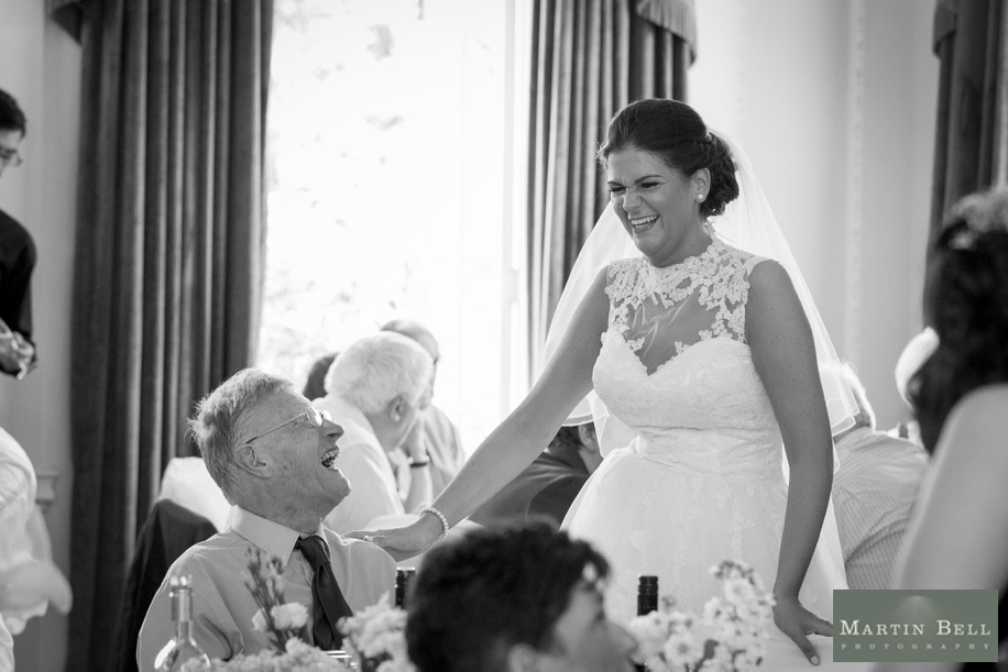Documentary wedding photography at Northcote House
