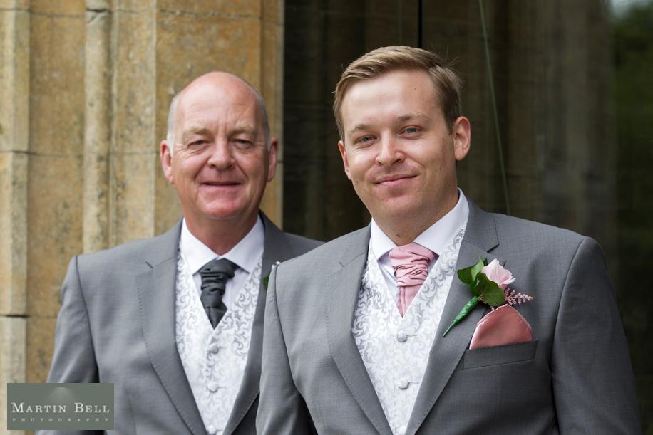Groomsmen portraits at a Rhinefield House wedding