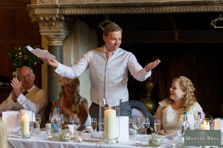 RHinefield House wedding breakfast - Speeches