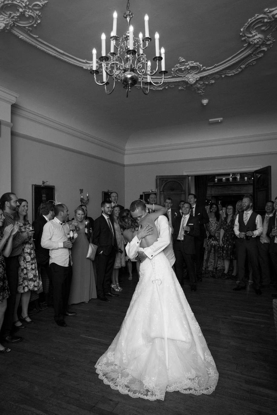 Rhinefield House wedding photography - first dance