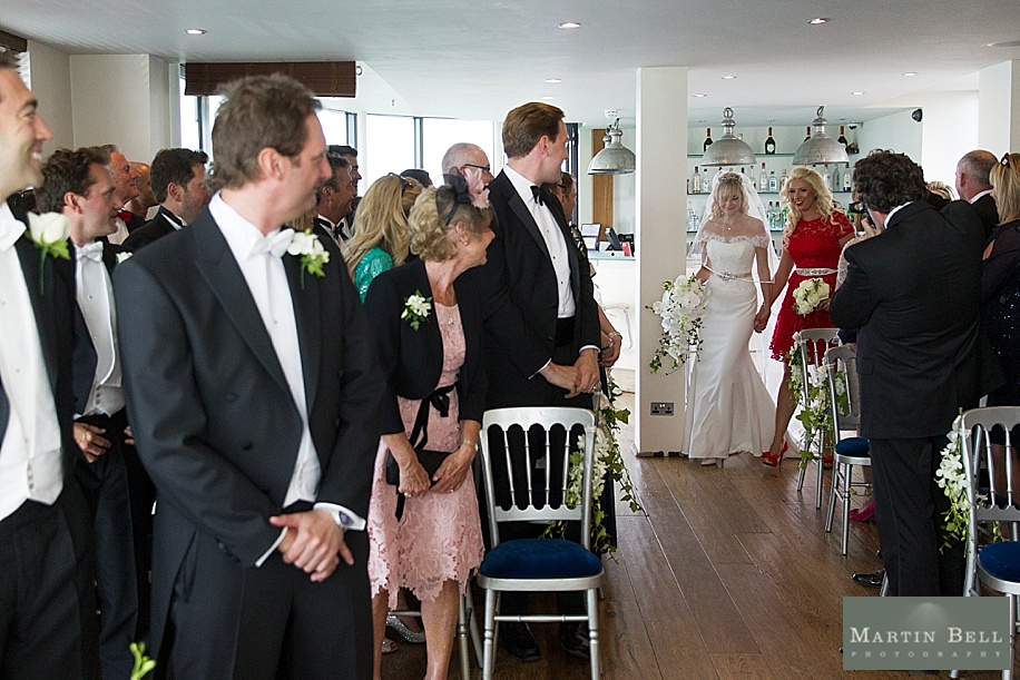 Weddings at Spitbank Fort by Martin Bell Photography
