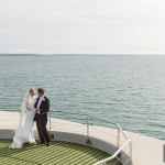 Chic and elegant Spitbank Fort Wedding by Martin Bell Photography