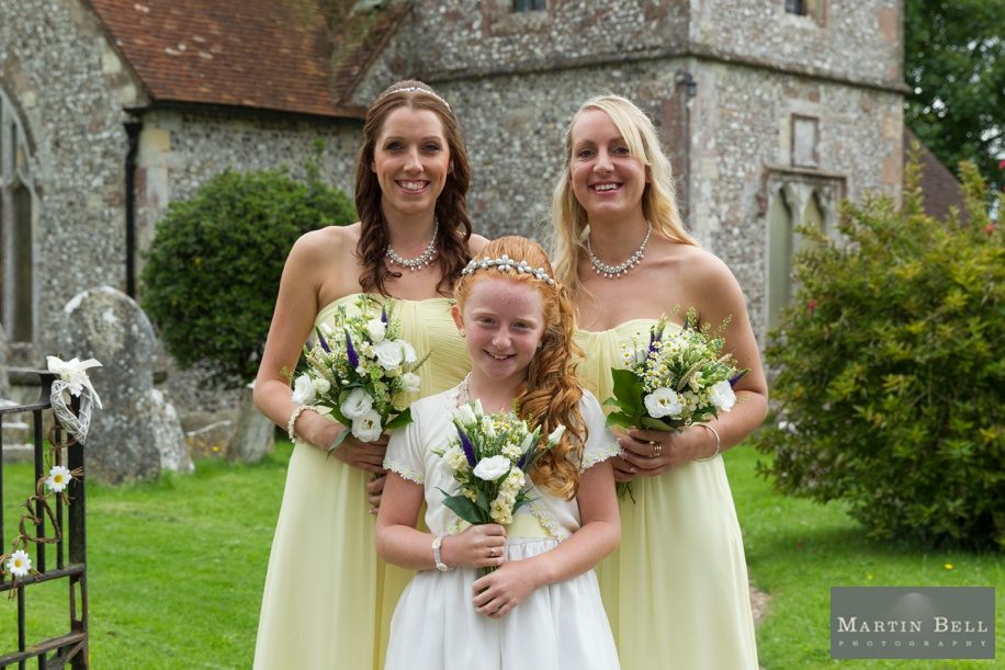 St Andrews Church in Owslebury wedding day