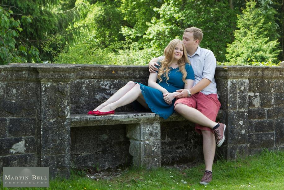 engagement photo shoot Rhinefield House