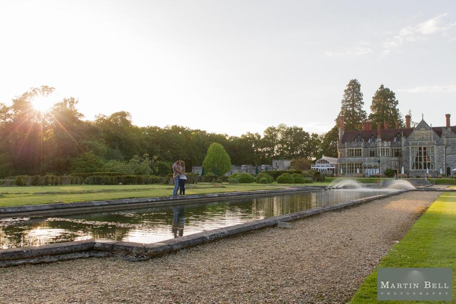 Rhine field House engagement photo shoots