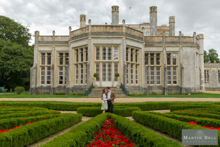 Highcliffe Castle engagement photos