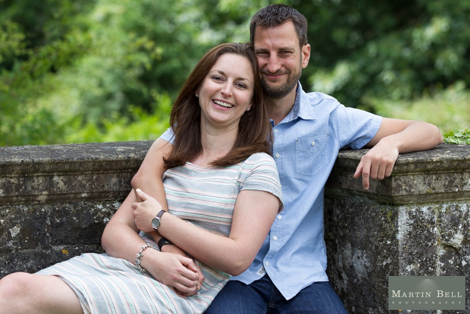 New Forest engagement photo shoot at Rhinefield House