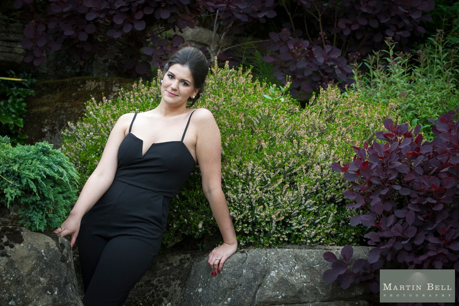 Beautiful Bridal portrait ideas at Northcote House during an engagement photo shoot
