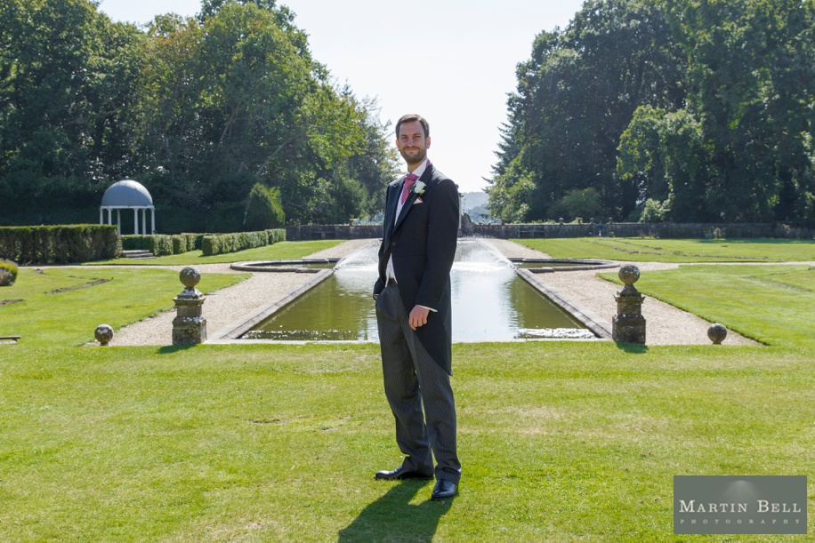 Groom portrait at Rhinefield House