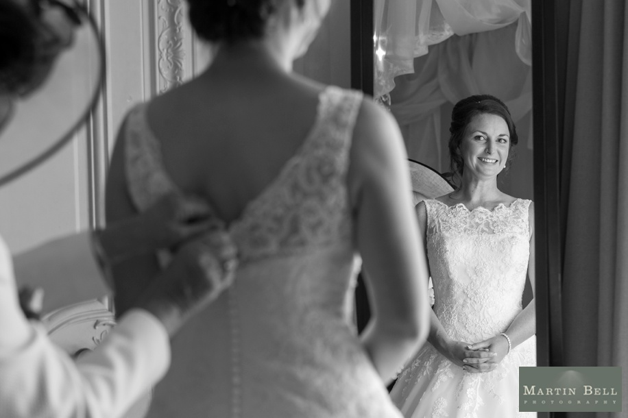 Bridal preparatins in the Walker Suite at Rhienfield House