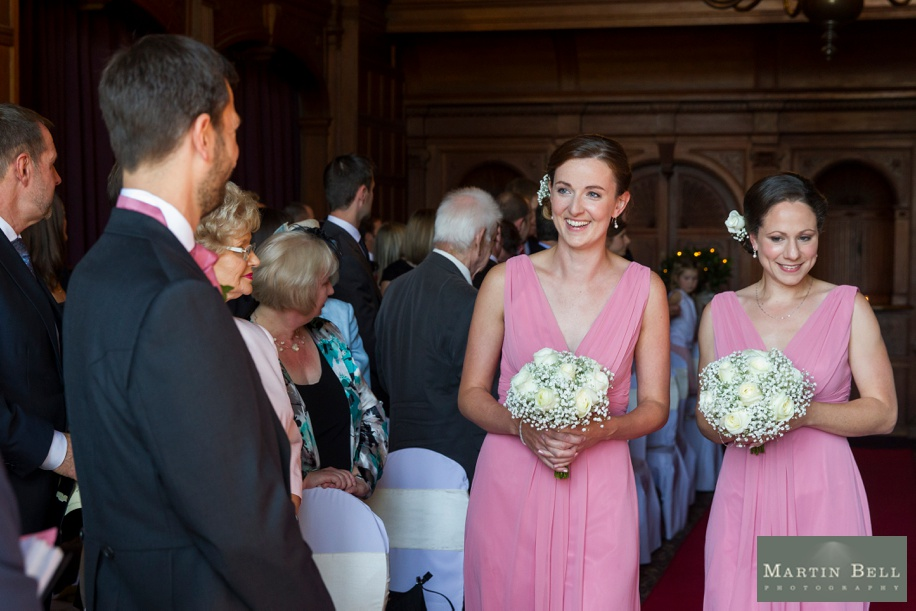 Wedding ceremony photographs at Rhinefield House