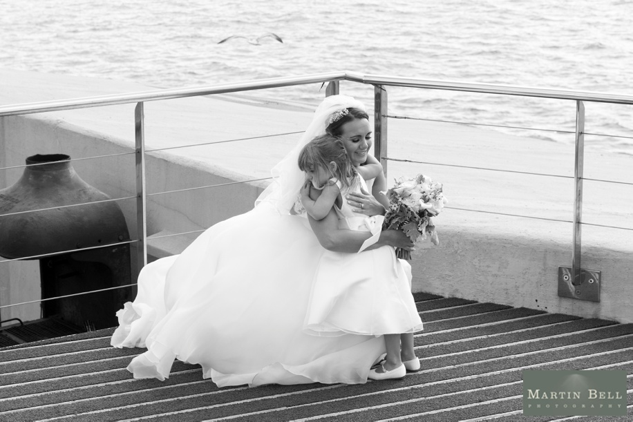 Documentary wedding photography - Spitbank Fort