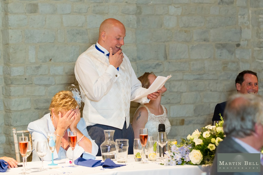 Speeches at Tithe Barn