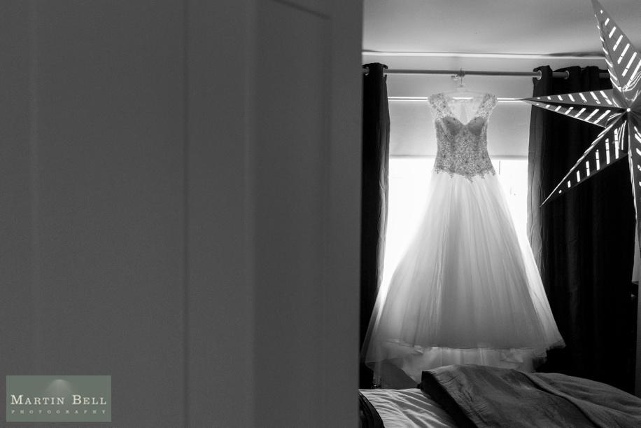 beautiful wedding dress - Wedded Bliss Bridal studio - Wedding at Elmers Court