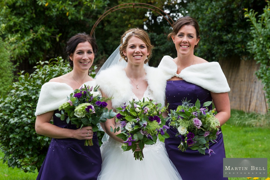 Hampshire wedding photographer - Bride and her best friends photograph
