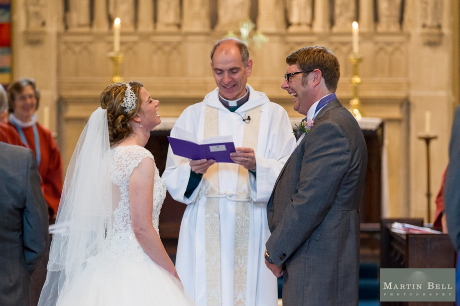 Wedding photographer Hampshire - St Thomas All Saints Church, Lyminton wedding ceremony