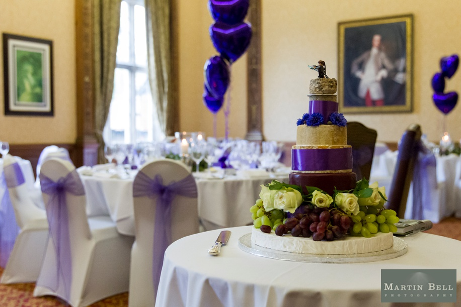 Cool cheese cake for weddings - Elmers Court wedding