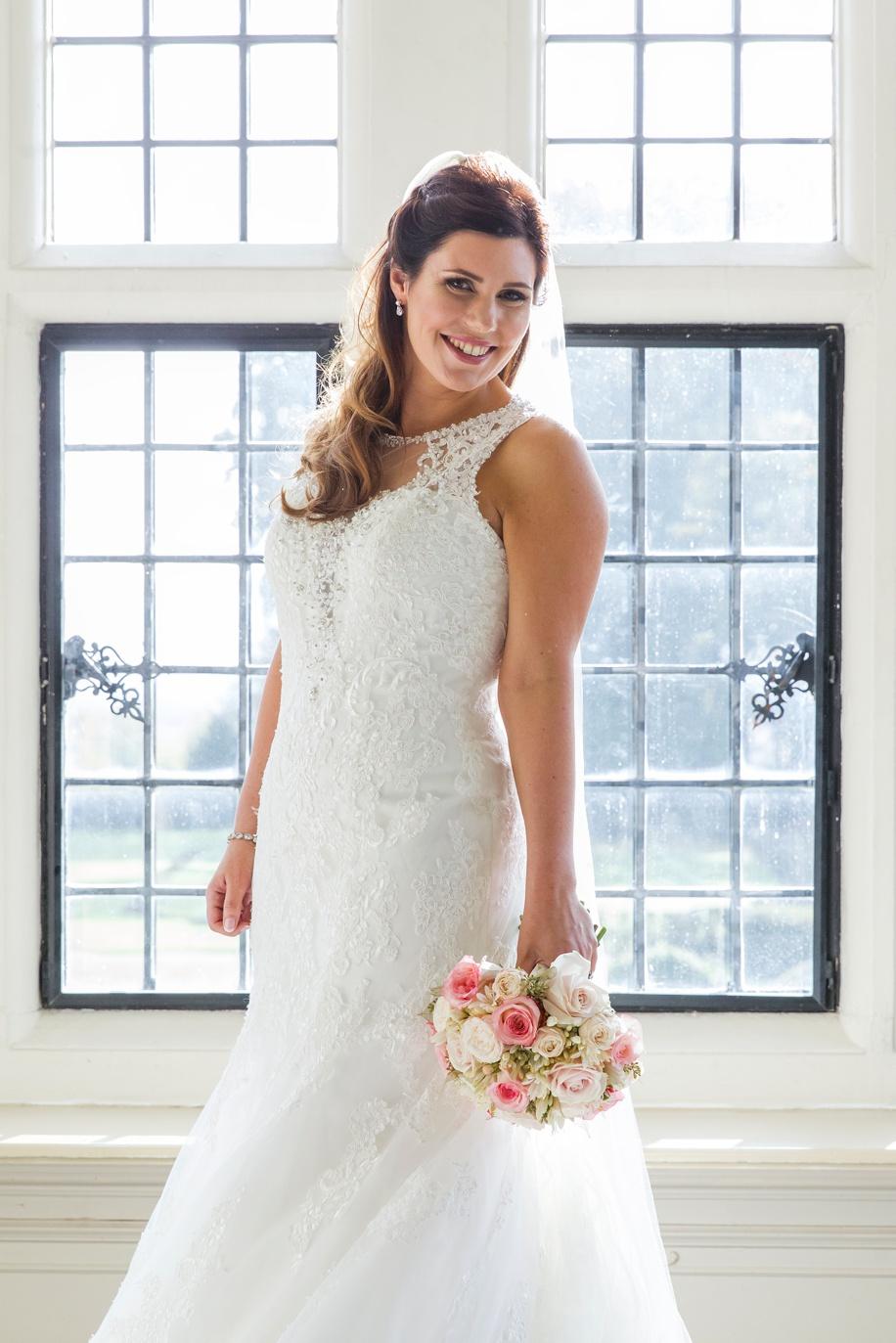 Rhinefield House wedding - Beautiful Bridal portrait