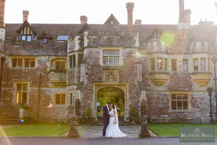 Stunning Hampshire wedding photography at Rhinefield House
