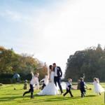 Wedding photographer Hampshire - Fun kids group photograph ideas - Rhinefield House wedding - Martin Bell Photography
