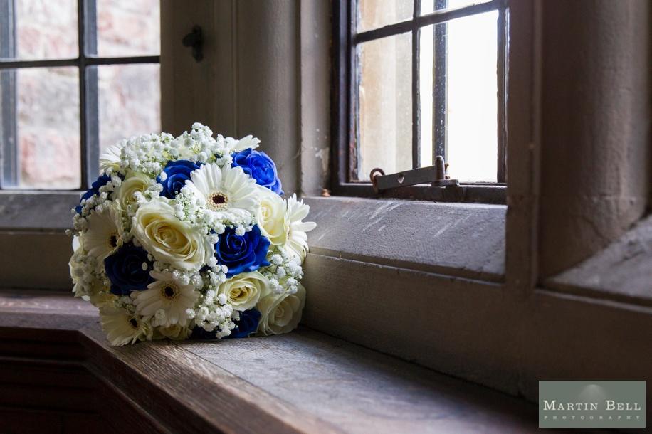 Vibrant wedding bouquet - Rhinefield House