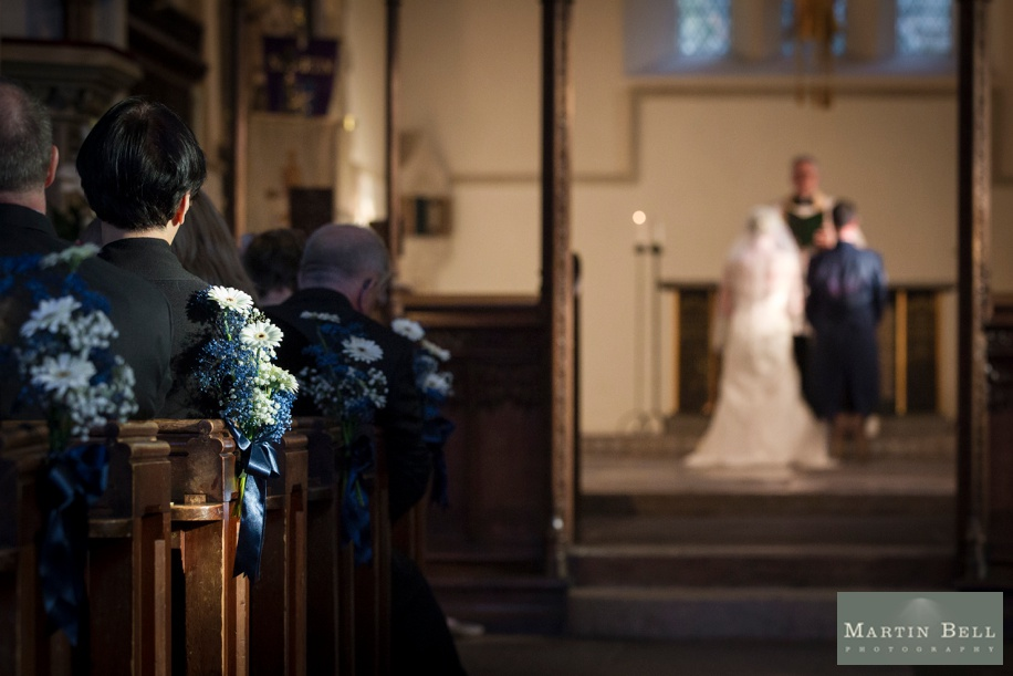 Stunning wedding photography - Sarum St Martins Church in Salisbury wedding