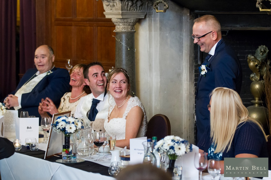 Speeches at Rhinefield House by preferred Amazing Rhinefield House wedding photographs by Rhinefield House wedding photographer - Martin Bell photography