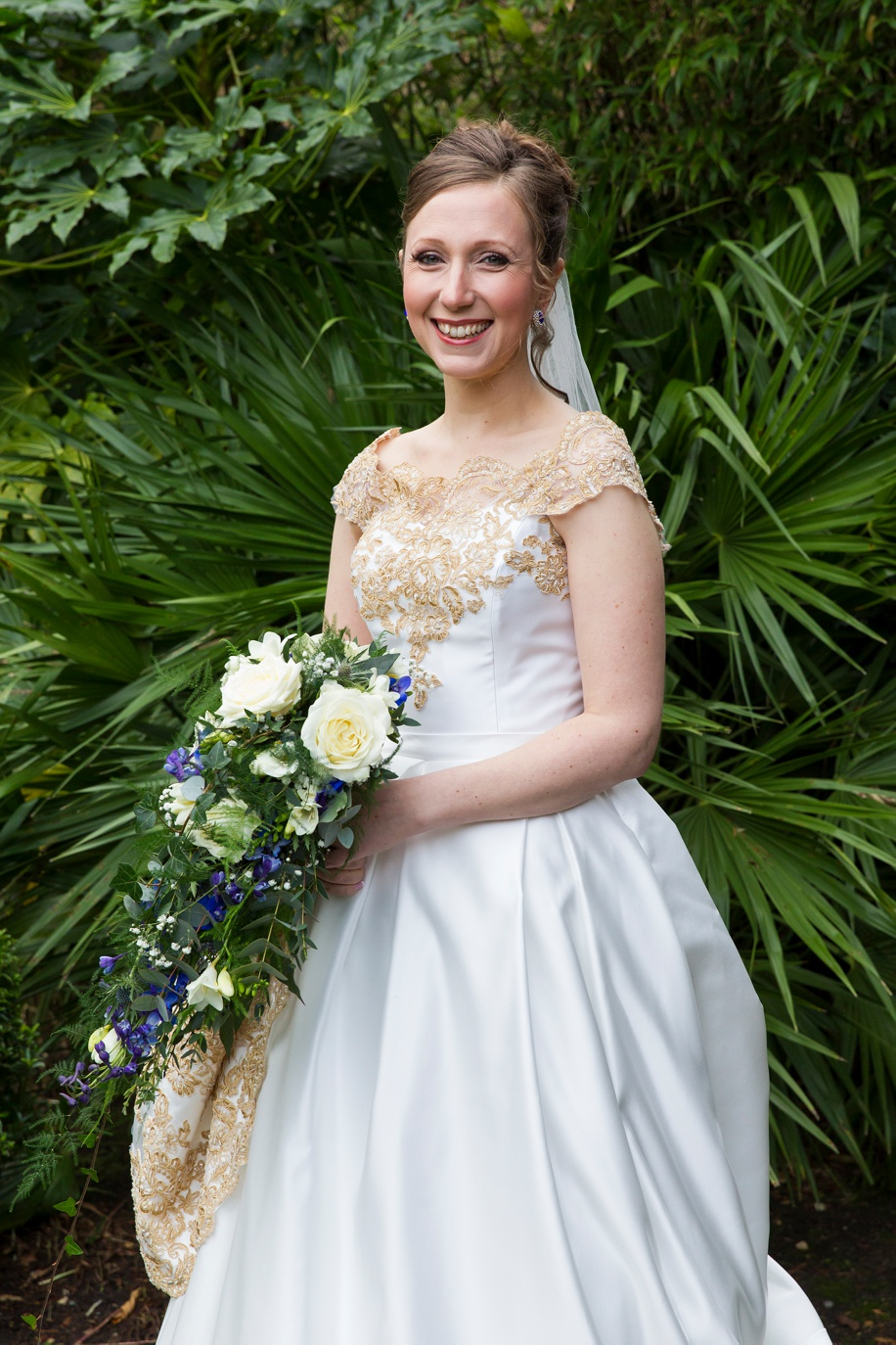 Stunning Bride portrait at the Lord Bute Hotel in Dorset