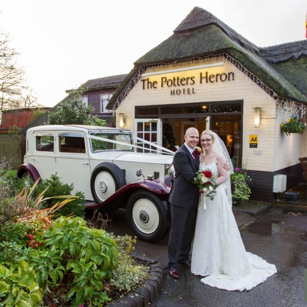 Potters Heron wedding ~ Marie & Mark