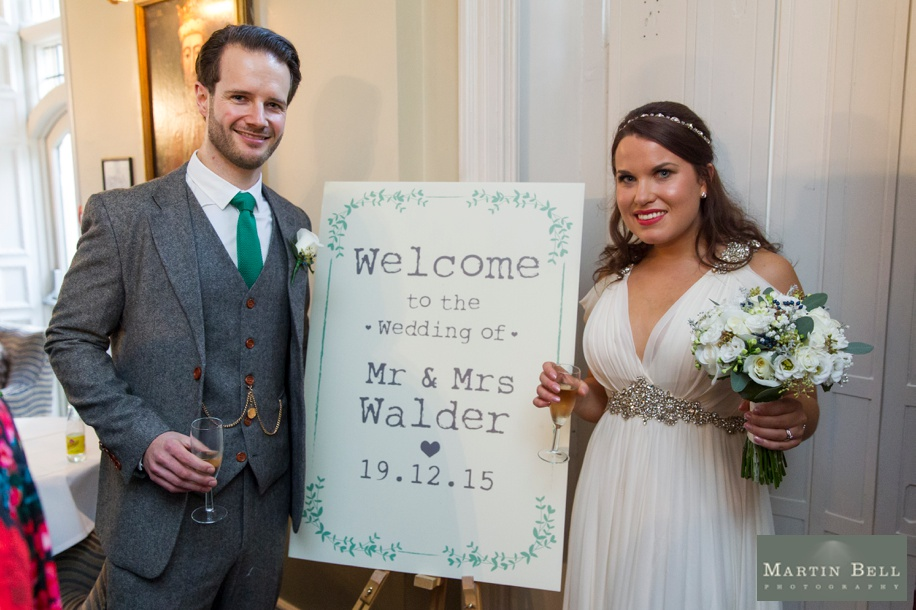 Unique wedding ideas - welcome signs