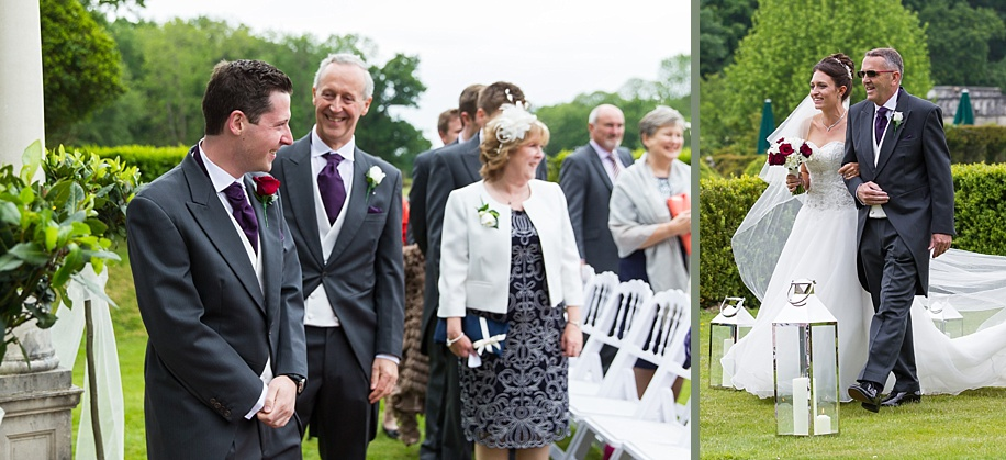 Rhinefield House outdoor ceremony in the Spring - Martin Bell Photography