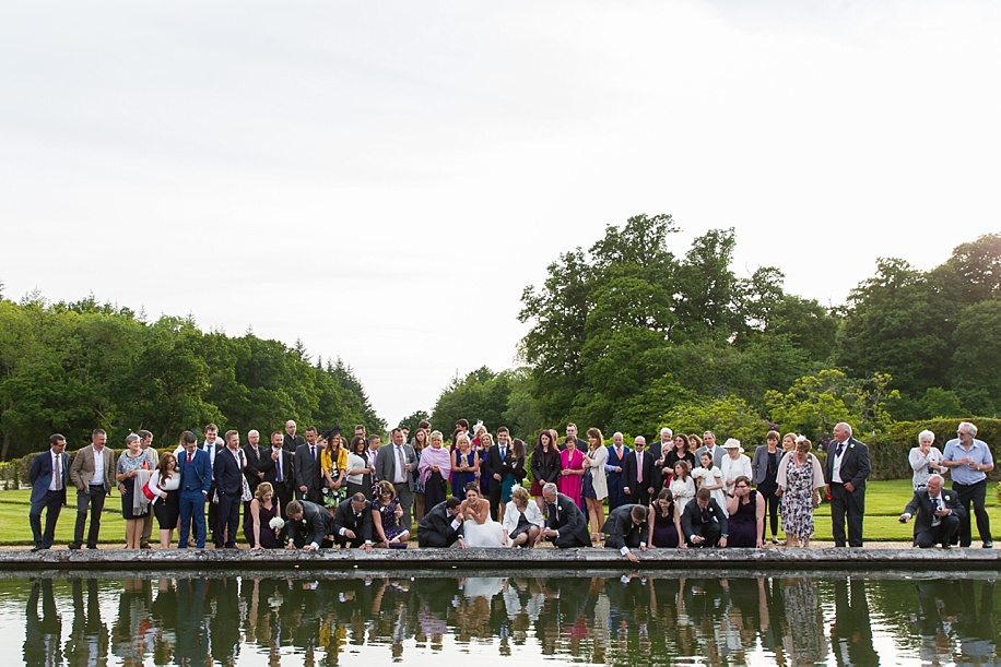 Documentary wedding photograph in the New Forest
