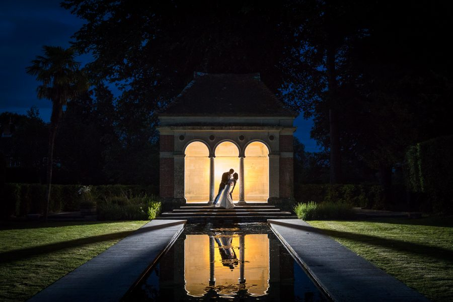 southampton wedding photographer - new forest wedding photography - night time wedding photographs