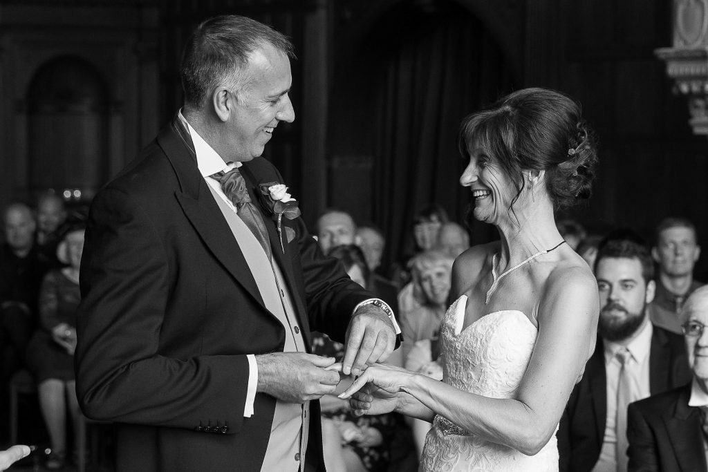 Documentary wedding photography Hampshire