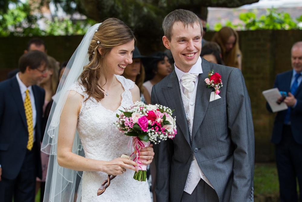 Romsey Abbey wedding photography - documentary wedding photography in Hampshire