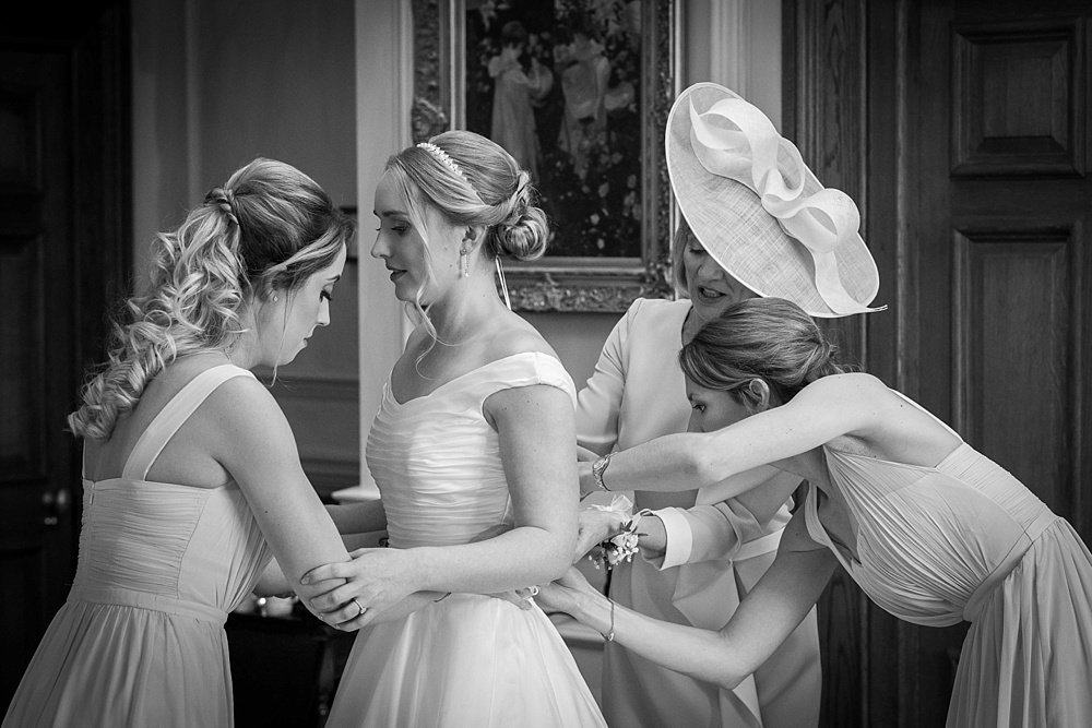 Lainston House wedding photography by award winning Hampshire wedding photographer, Martin Bell Photography