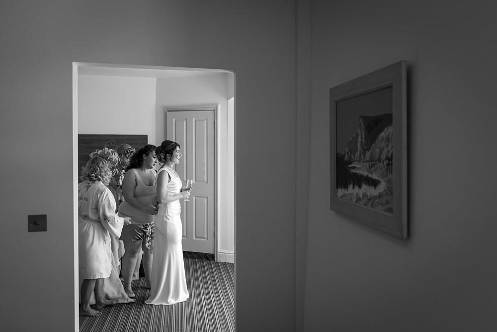 A fun Lulworth Castle wedding by award winning wedding photographer Martin Bell Photography - TWIA wedding photographer of the year