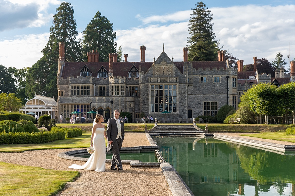 Rhinefield House wedding photographer - award winning photographs by Martin Bell Photography - vintage Rolls Royce