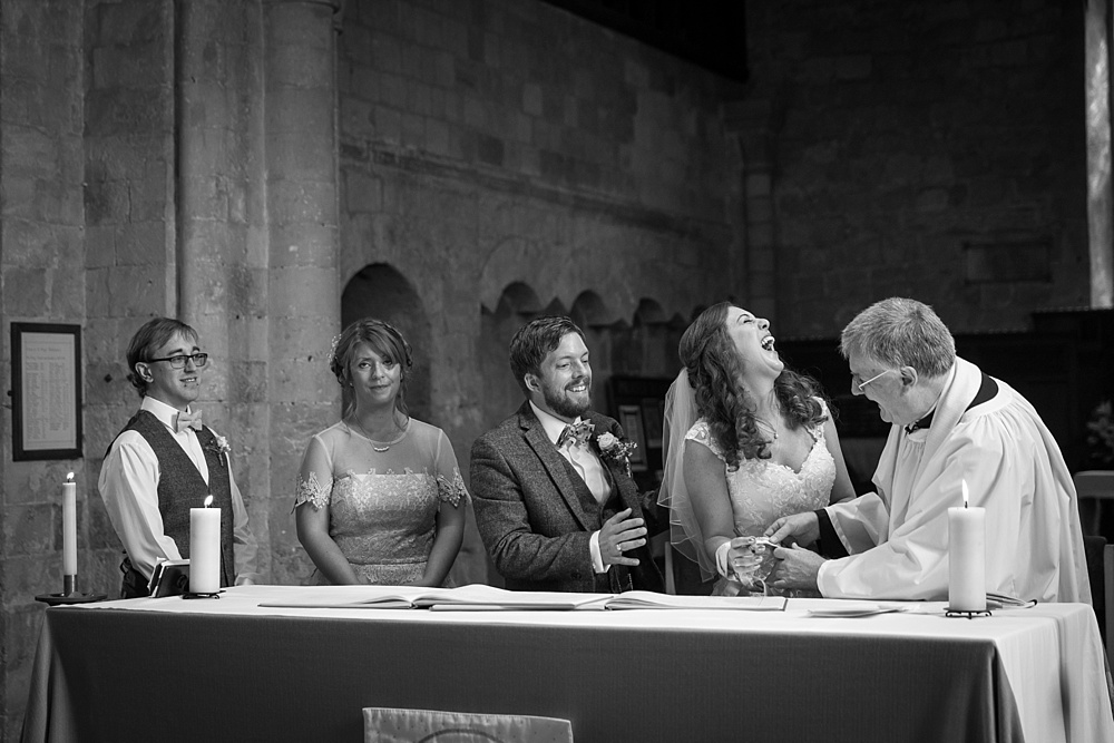 Portchester Castle wedding photography by award winning wedding photographer, Martin Bell Photography