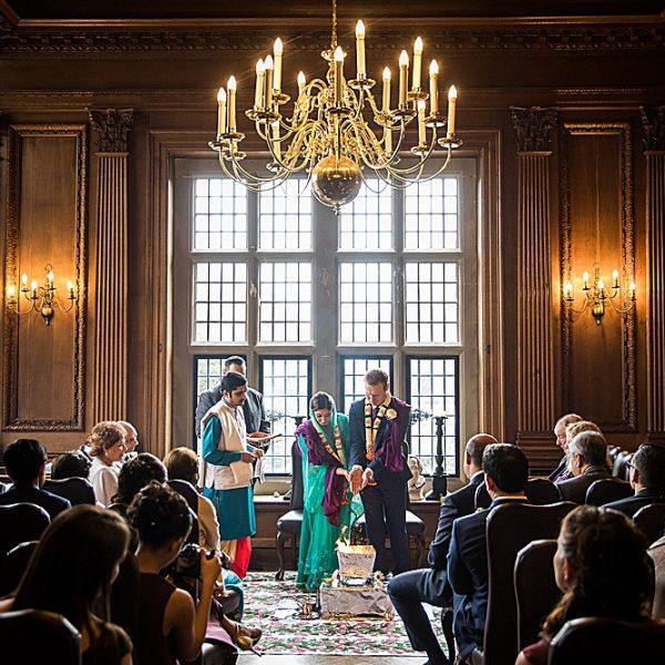 An Indian wedding at Rhinefield House ~ Meera & David