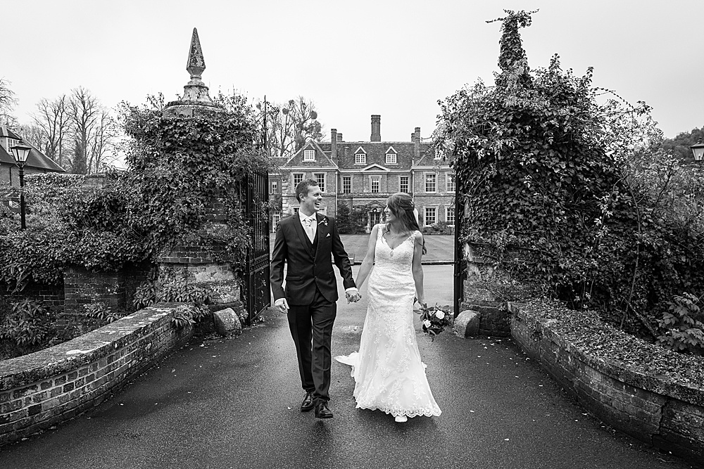 Lainston House wedding photography by award winning Hampshire wedding photographer - Martin Bell Photography