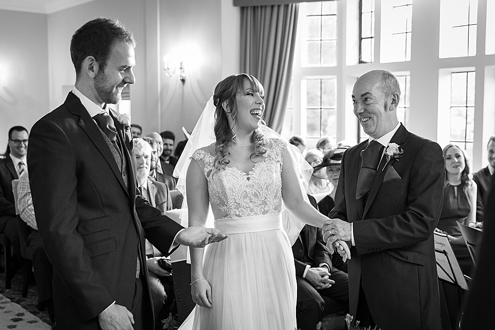 New Place wedding photography by award winning Hampshire wedding photographer - Martin Bell Photography