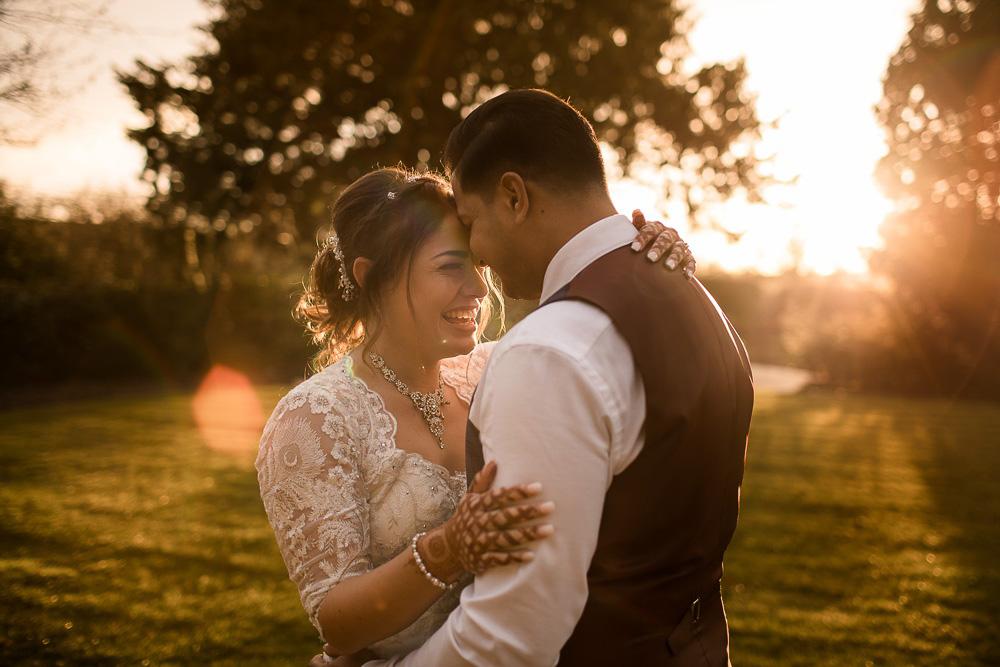 Winter wedding at Clock Barn ~ Zaja & Moz