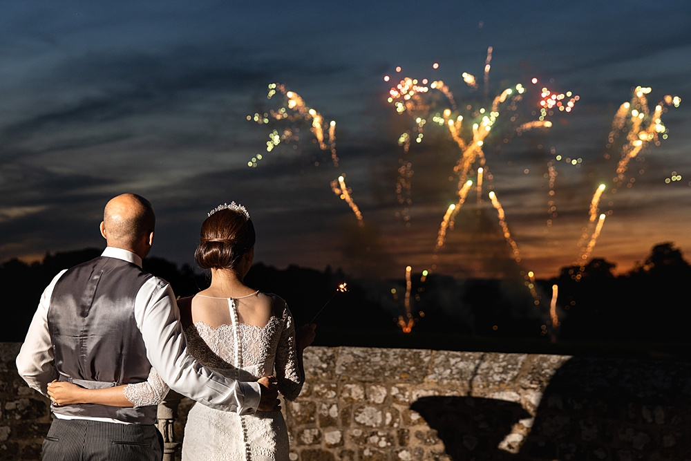 Leeds Castle wedding photography by multi award winning wedding photographer Martin Bell.