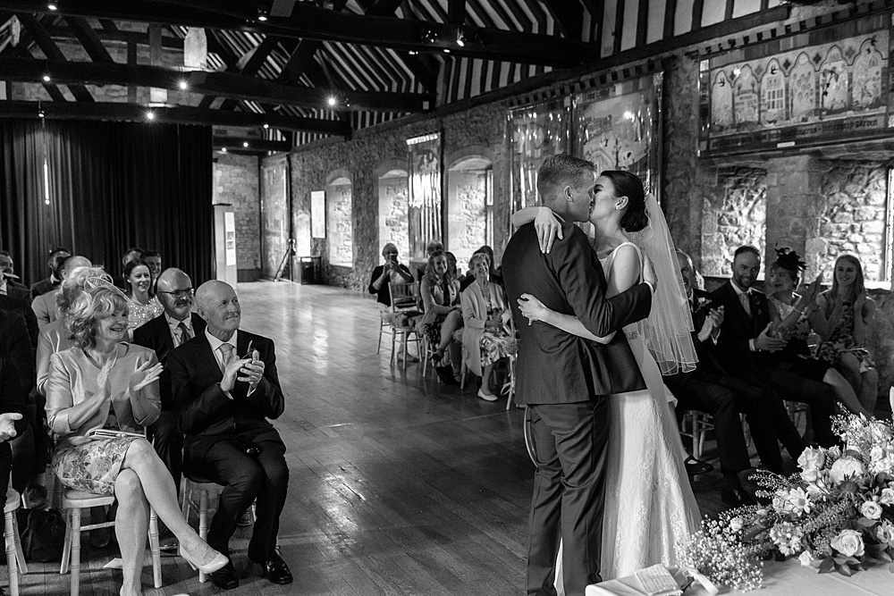 The Manor at Sway wedding photography by multi award winning wedding photographer Martin Bell.