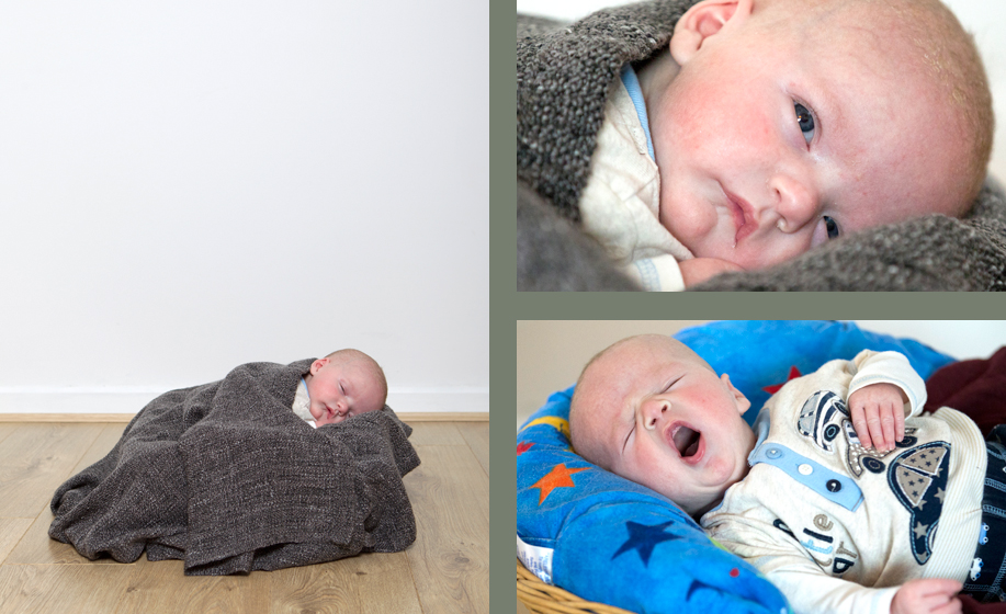 baby photographer with baby boy in Fareham, Hampshire
