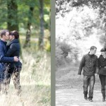 Engagement photo shoot in the New Forest with Hampshire wedding photographer - Martin Bell Photography