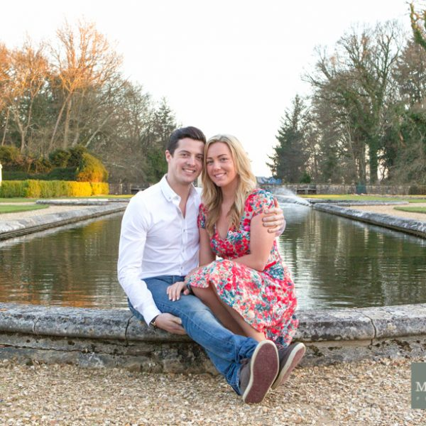 Romantic Rhinefield at Sunset - Jenni and Lewis' engagement photo shoot in the New Forest