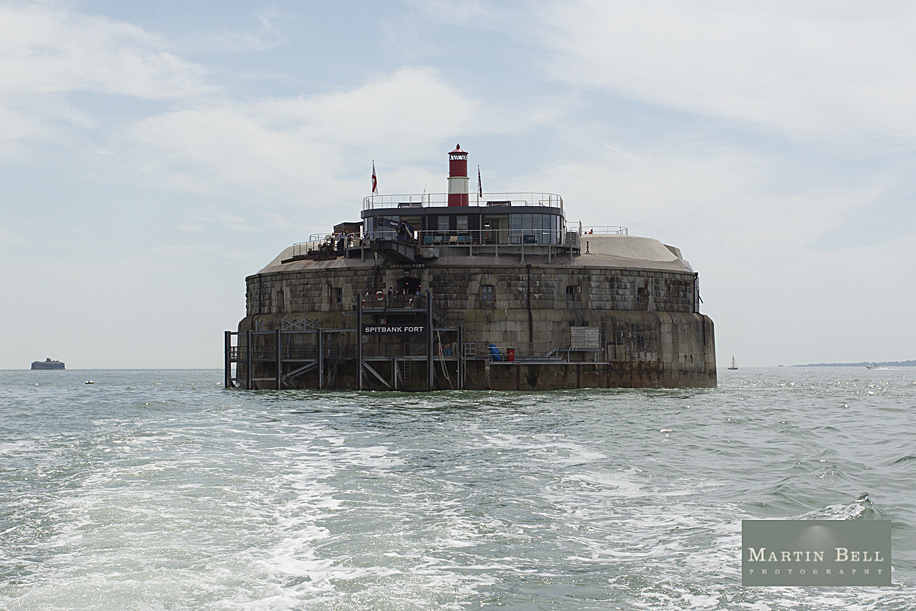 Spitbank Fort wedding photographs by Hampshire wedding photographer, Martin Bell Photography